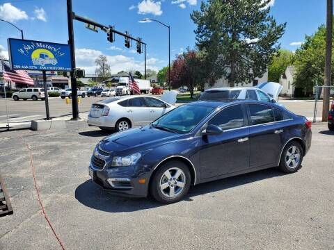 2016 Chevrolet Cruze Limited for sale at J Sky Motors in Nampa ID