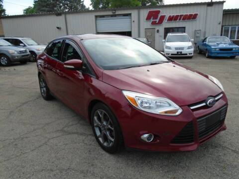 2013 Ford Focus for sale at RJ Motors in Plano IL