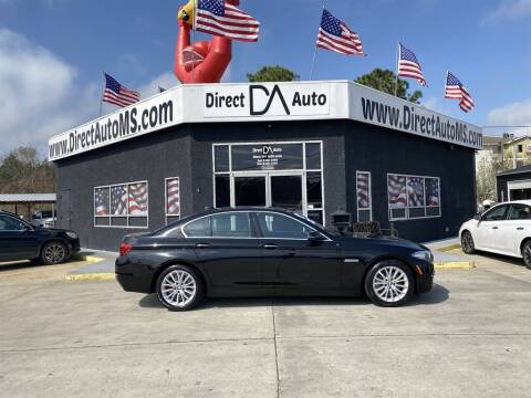 2015 BMW 5 Series for sale at Direct Auto in D'Iberville MS