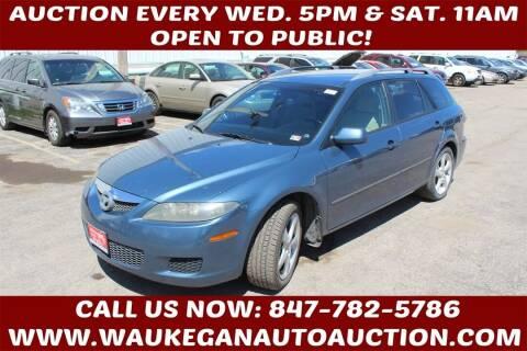 2006 Mazda MAZDA6 for sale at Waukegan Auto Auction in Waukegan IL