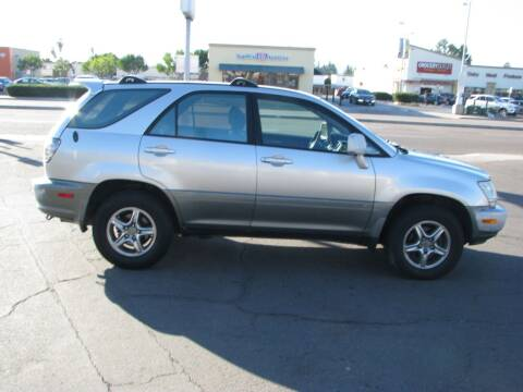 2002 Lexus RX 300 for sale at M&N Auto Service & Sales in El Cajon CA
