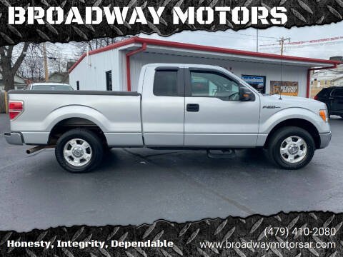 2013 Ford F-150 for sale at BROADWAY MOTORS in Van Buren AR