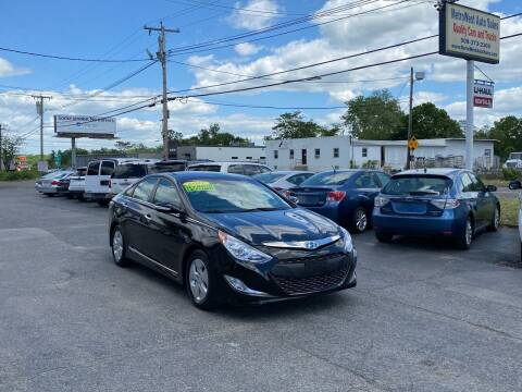 2012 Hyundai Sonata Hybrid for sale at MetroWest Auto Sales in Worcester MA
