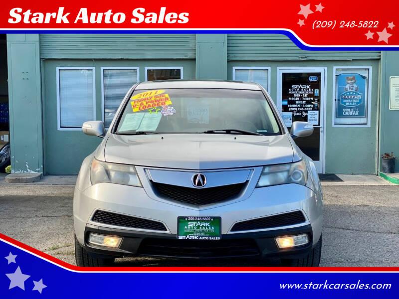 2011 Acura MDX for sale at Stark Auto Sales in Modesto CA