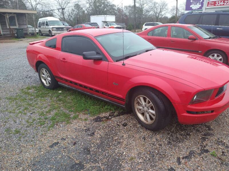 2008 Ford Mustang for sale at Mitchell Auto Sales LLC in Andalusia AL