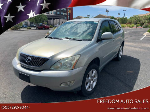 2004 Lexus RX 330 for sale at Freedom Auto Sales in Albuquerque NM