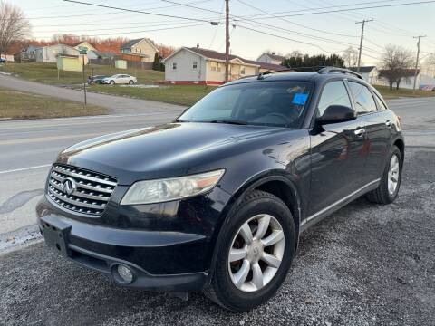2005 Infiniti FX35 for sale at Trocci's Auto Sales in West Pittsburg PA