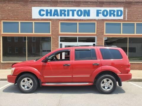 2005 Dodge Durango for sale at Chariton Ford in Chariton IA