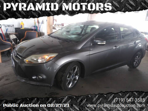 2014 Ford Focus for sale at PYRAMID MOTORS - Pueblo Lot in Pueblo CO
