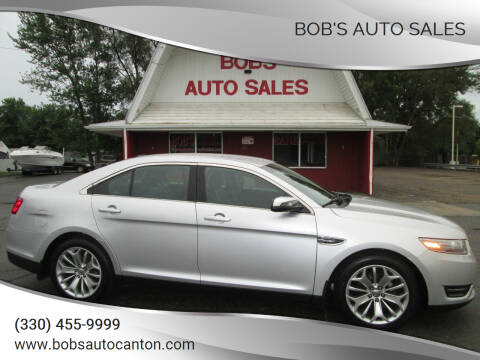2014 Ford Taurus for sale at Bob's Auto Sales in Canton OH