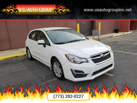 2016 Subaru Impreza for sale at U.S. Auto Group in Chicago IL