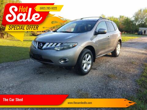 2010 Nissan Murano for sale at The Car Shed in Burleson TX