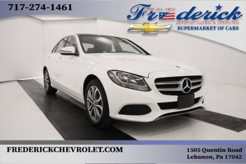 2018 Mercedes-Benz C-Class for sale at Lancaster Pre-Owned in Lancaster PA