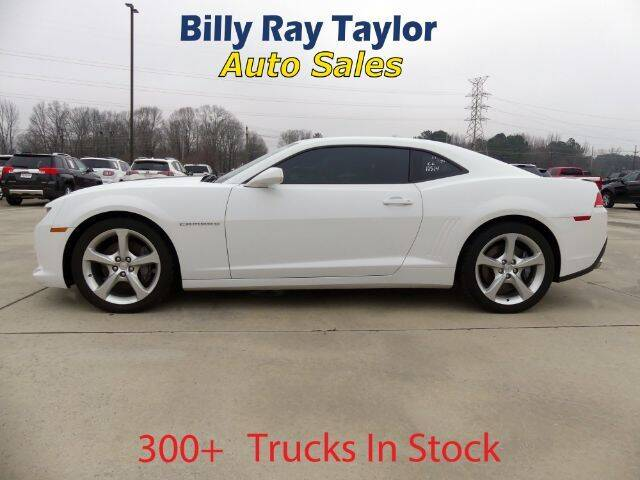 2014 Chevrolet Camaro for sale at Billy Ray Taylor Auto Sales in Cullman AL