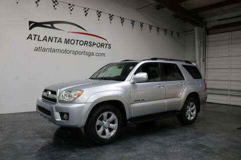 2008 Toyota 4Runner for sale at Atlanta Motorsports in Roswell GA