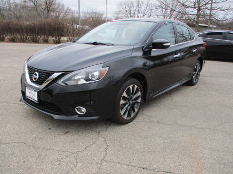 2017 Nissan Sentra for sale at Triangle Auto Sales in Elgin IL