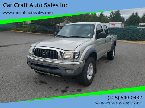 2004 Toyota Tacoma for sale at Car Craft Auto Sales Inc in Lynnwood WA