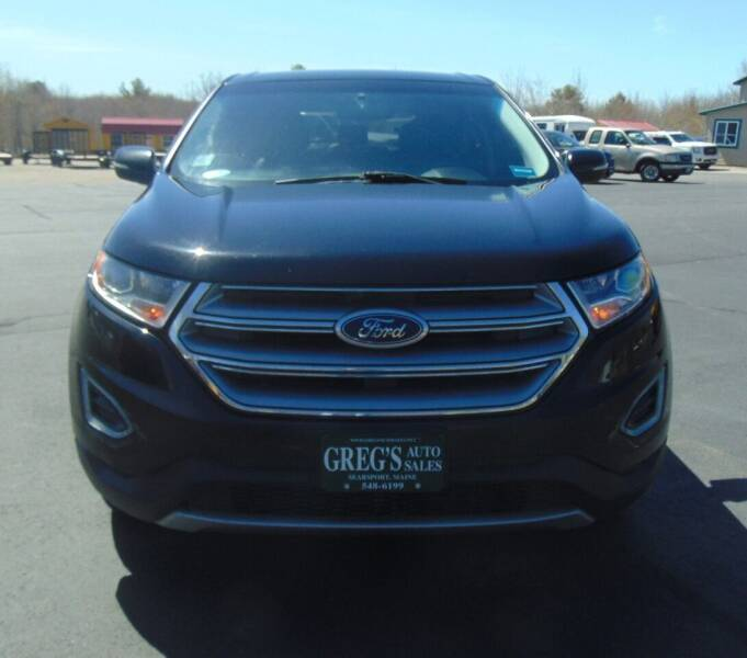 2016 Ford Edge for sale at Greg's Auto Sales in Searsport ME