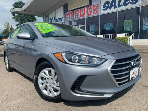 2017 Hyundai Elantra for sale at Xtreme Truck Sales in Woodburn OR