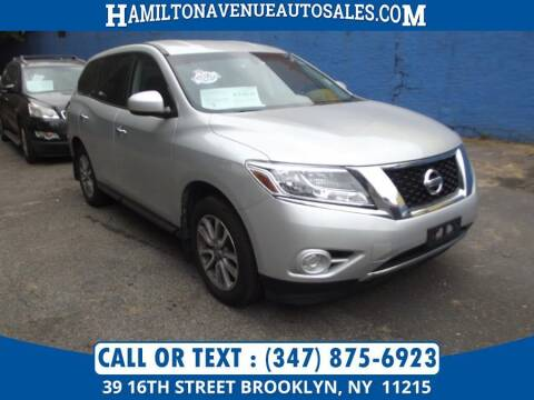 2014 Nissan Pathfinder for sale at Hamilton Avenue Auto Sales in Brooklyn NY