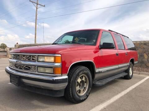 1999 Chevrolet Suburban for sale at Eastside Auto Sales in El Paso TX