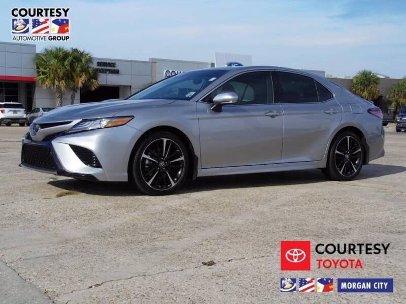 2019 Toyota Camry for sale at Courtesy Toyota & Ford in Morgan City LA