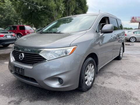 2012 Nissan Quest for sale at Atlantic Auto Sales in Garner NC