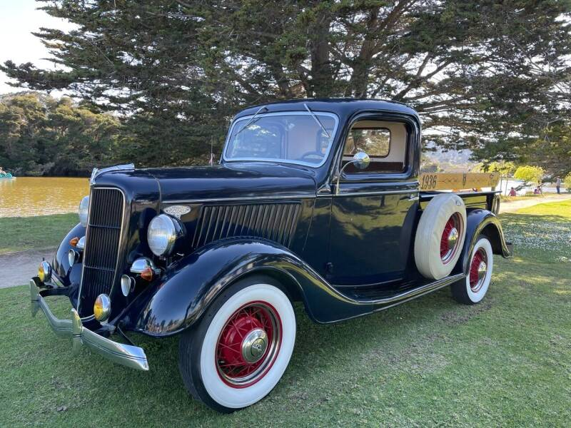 1936 Ford Pickup for sale at Dodi Auto Sales in Monterey CA