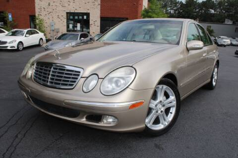2005 Mercedes-Benz E-Class for sale at Atlanta Unique Auto Sales in Norcross GA
