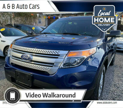2012 Ford Explorer for sale at A & B Auto Cars in Newark NJ