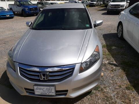 2012 Honda Accord for sale at QUICK WAY AUTO SALES in Bradford PA