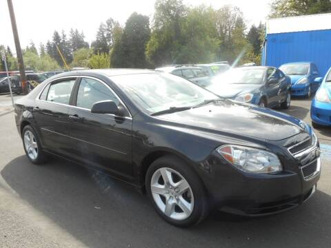 2011 Chevrolet Malibu for sale at Lino's Autos Inc in Vancouver WA