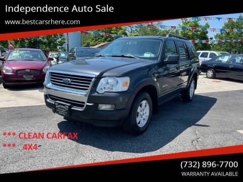 2007 Ford Explorer for sale at Independence Auto Sale in Bordentown NJ