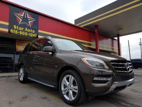 2012 Mercedes-Benz M-Class for sale at Star Auto Inc. in Murfreesboro TN