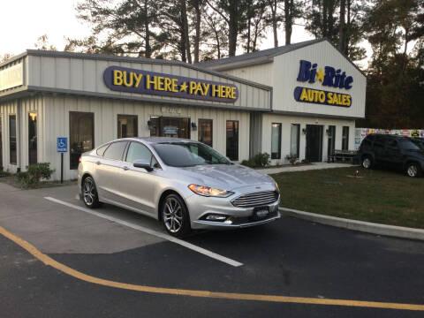 2017 Ford Fusion for sale at Bi Rite Auto Sales in Seaford DE