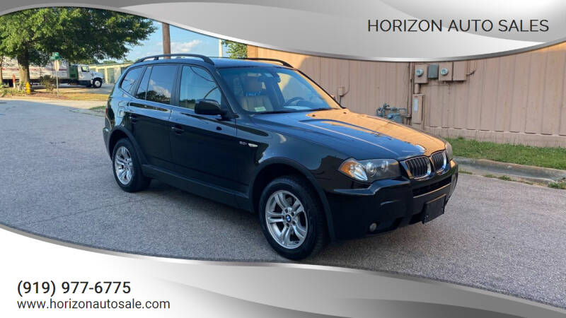 2006 BMW X3 for sale at Horizon Auto Sales in Raleigh NC