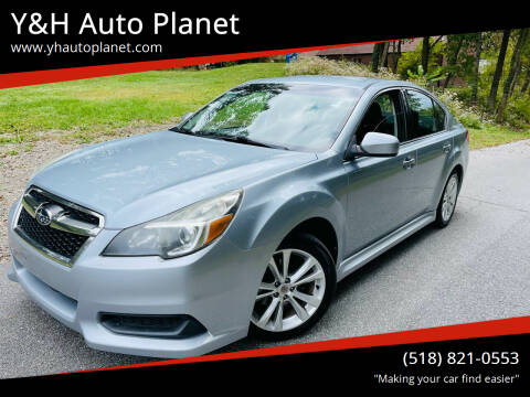 2013 Subaru Legacy for sale at Y&H Auto Planet in West Sand Lake NY