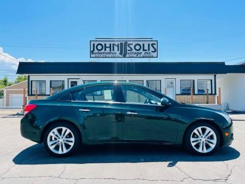 2014 Chevrolet Cruze for sale at John Solis Automotive Village in Idaho Falls ID