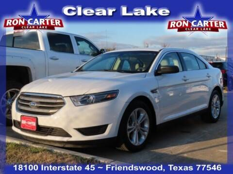 2018 Ford Taurus for sale at Ron Carter  Clear Lake Used Cars in Houston TX