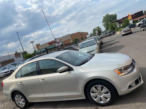 2012 Volkswagen Jetta for sale at Sanaa Auto Sales LLC in Denver CO