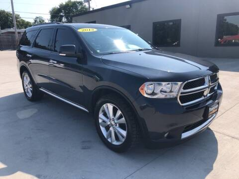 2013 Dodge Durango for sale at Tigerland Motors in Sedalia MO