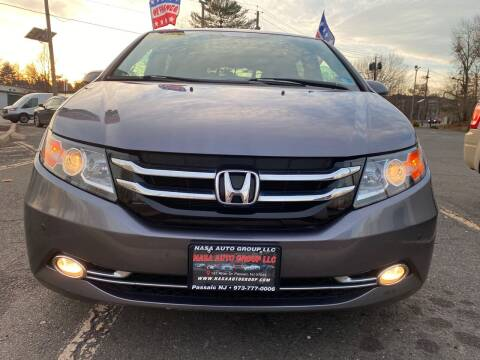 2015 Honda Odyssey for sale at Nasa Auto Group LLC in Passaic NJ