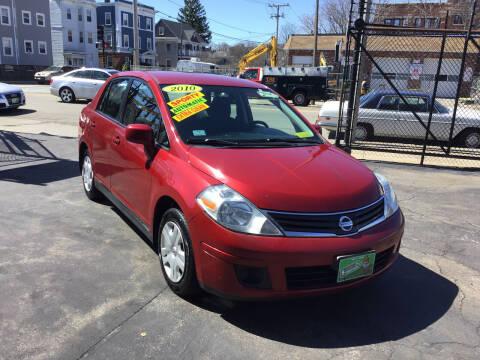 2010 Nissan Versa for sale at Adams Street Motor Company LLC in Dorchester MA