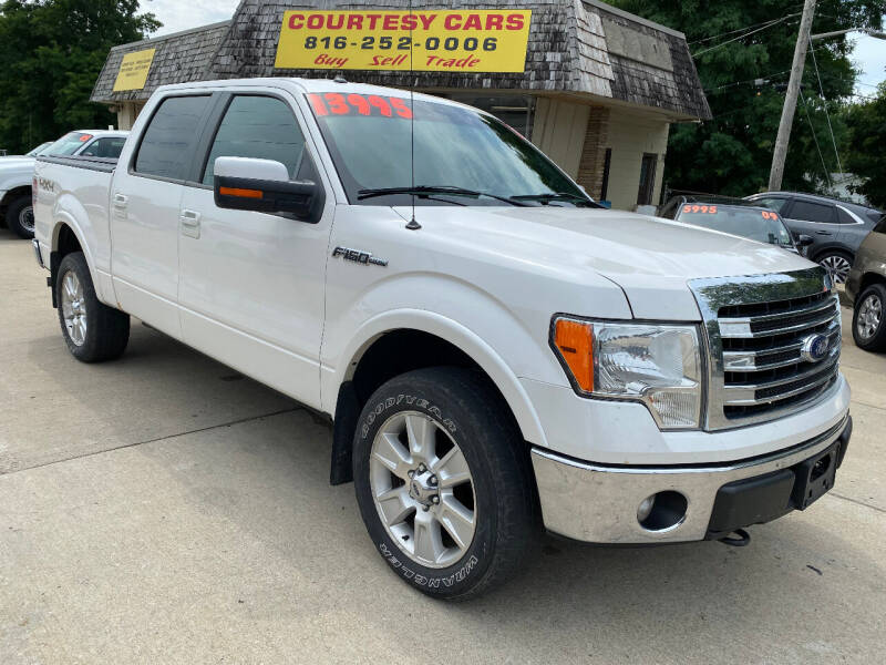 2013 Ford F-150 for sale at Courtesy Cars in Independence MO