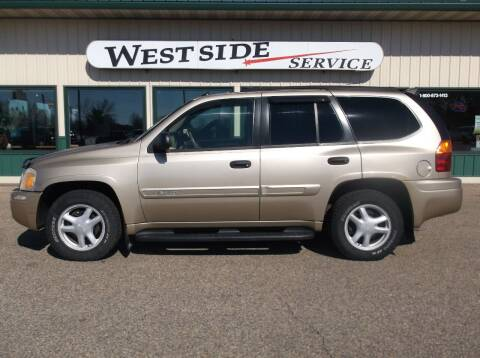 2004 GMC Envoy for sale at West Side Service in Auburndale WI