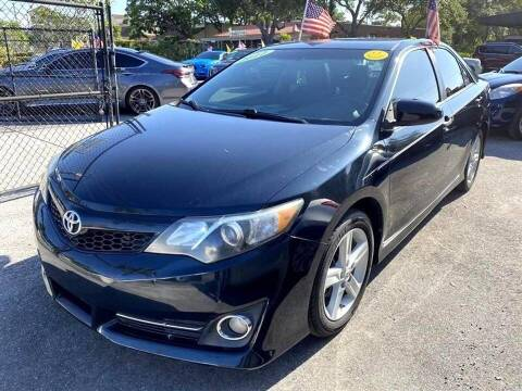 2012 Toyota Camry for sale at EZ Own Car Sales of Miami in Miami FL