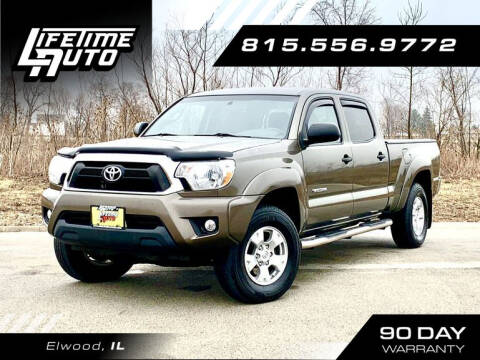 2014 Toyota Tacoma for sale at Lifetime Auto in Elwood IL