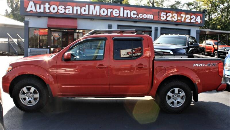 2011 Nissan Frontier for sale at Autos and More Inc in Knoxville TN