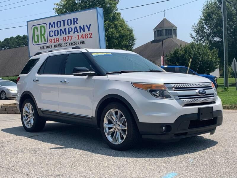 2015 Ford Explorer for sale at GR Motor Company in Garner NC