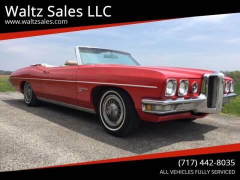 1970 Pontiac Catalina for sale at Waltz Sales LLC in Gap PA